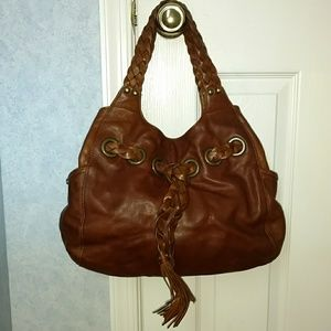 Kooba hobo bag with braided strap